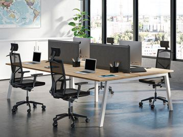 Brand new Bench Desks - Various Sizes and Finishes Available