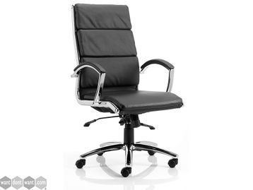 Brand New Classic Executive Chair in Black