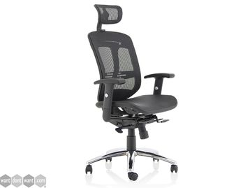 Brand New Full Mesh Operator Chair with Optional Headrest