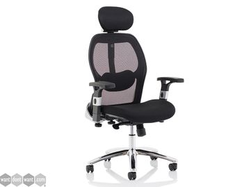Brand New Mesh Back Operator Chair with Headrest