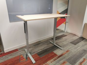 Used Humanscale 'Float' Height Adjustable Sit Stand Desk