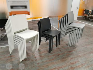 Used Frovi Stacking Cafe Seating - 3 Colours Available
