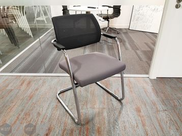 Used Sitland Mesh Back Cantilever Boardroom Meeting Chairs - Price for 6 chairs!