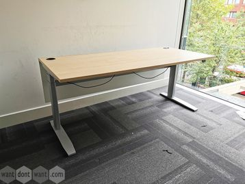 Used 1800mm Sven Electric Height Adjustable Sit Stand Desk