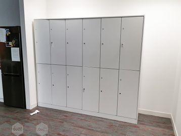 Used 12 Door Locker Unit