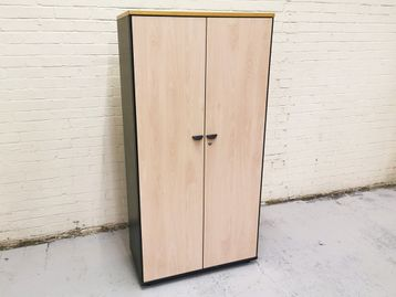 Used Double Door Storage Cupboards