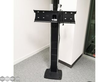 Used Floor-standing Bolt to the Floor Monitor Stands