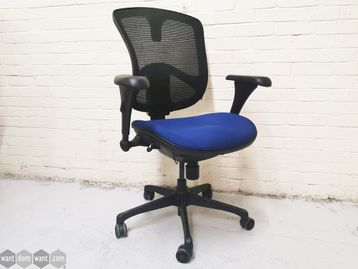 Used Open Plan 'Relax' Mesh Back Operator Chair