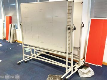 Used Whiteboards on wheels