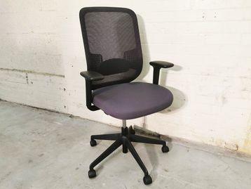 Used Orangebox Do Operator Chair with Grey fabric Seat