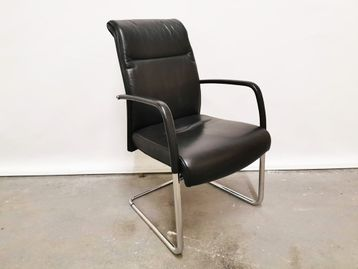 Used Kusch & Co Leather Cantilever Chairs
