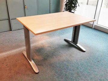 Used 1200mm Desk Including Cable Tray