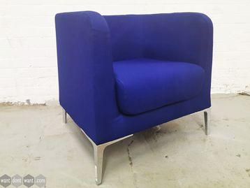 Used Fabric Armchair