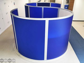 Used Orangebox S Shaped 'Cove' System - 3 Colour options