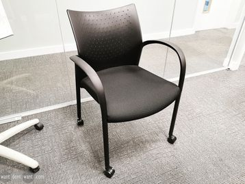 Used Senator Trillipse Chairs on Casters