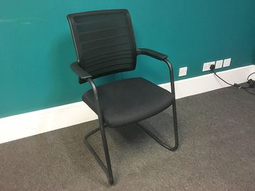 Used Interstuhl Cantilever Meeting Chair