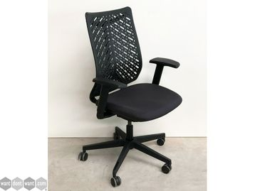 Brand New Elite Chairs with Choice of Seat Fabric and Black Back