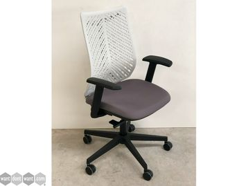 Brand New Elite Chairs with Choice of Seat Fabric and White Back