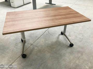 Brand New Folding Flip Top Tables on Castors