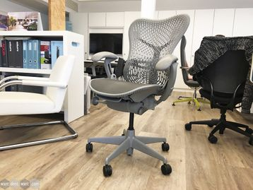 Used Herman Miller Mirra Chair in Grey