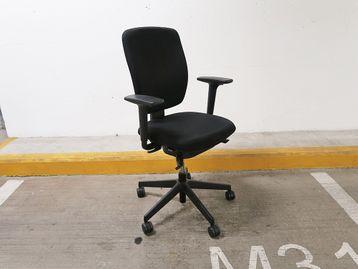 Used Senator Dash Operator Chairs in Black Fabric