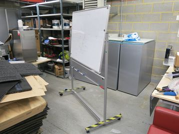 Used Flip Whiteboard - Poor Condition hence price