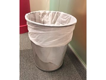 Used Waste Paper Baskets