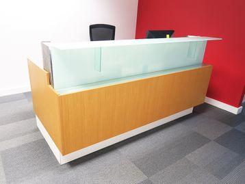 Used Bespoke Reception Desk