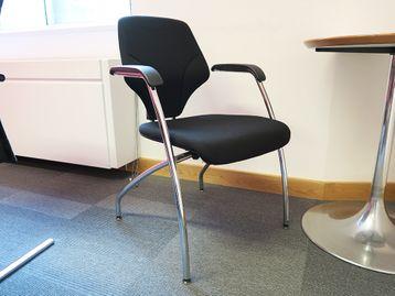 Used Giroflex 4 Leg Boardroom Meeting Chair