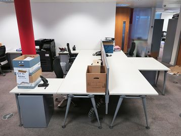 Used 1800mm Herman Miller Abak Desks - Various Configurations