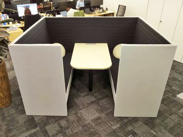 Used Marelli 'Stripes' 6 Seater Booth
