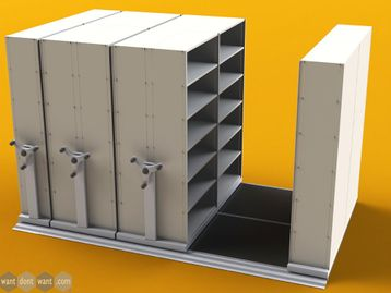 Bespoke Mobile Storage Racking Systems