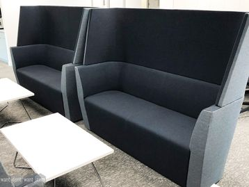 Used Orangebox 'Away From The Desk' High Back Sofa