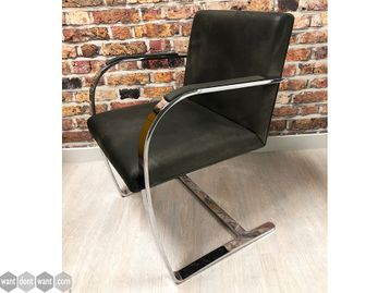 Used Knoll 'Brno' Chair in Dark Brown