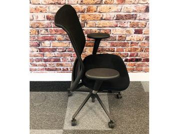 Used Vitra 'ID' Operator Chairs in Black