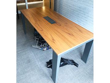 Used Mahia Walnut Meeting Table