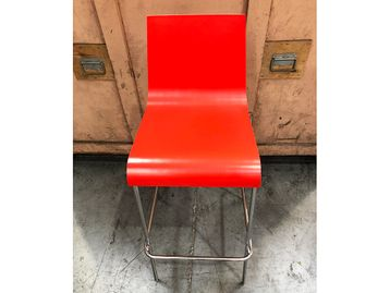 Used Red Bar Stools