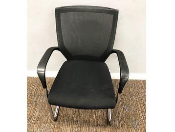 Used Techo Sidiz Mesh Back Meeting Chairs