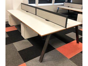 Used 1600mm Sven Bench Desks