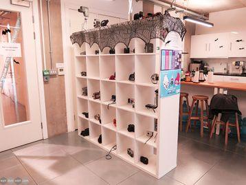 Used IKEA Kallax 25 Compartment Storage Unit