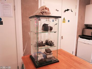 Used Glass Lockable Display Cabinet