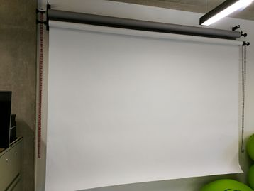 Used Photography Roller Backdrop Projection Screen