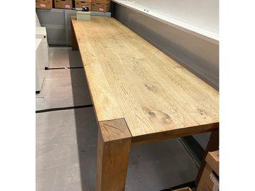 Used 3600mm Solid Oak 'Bigfoot' Table