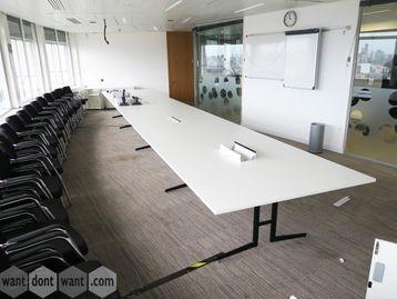 Used 8000mm Senator Ad Lib Bespoke Boardroom Table
