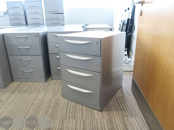 Used Steel grey Pedestals