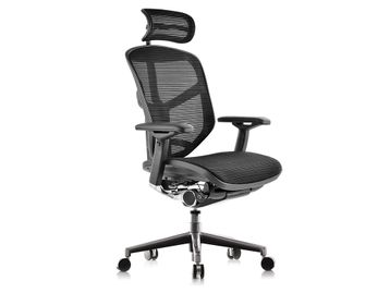 Brand New Fully Adjustable Mesh Operator Chair Including Headrest