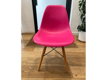 Used Eames Eiffel Style Breakout Chairs in Pink
