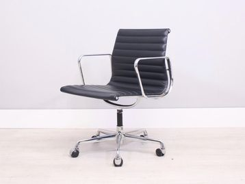 Used ICF Charles Eames Leather Chairs