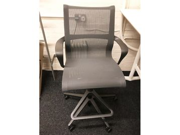 Used Herman Miller Setu Mesh Stools with Footrest