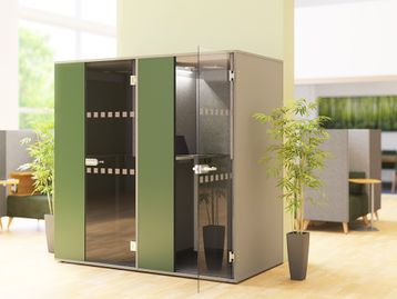 Brand New Acoustic Phone Booth Pod - Customisable Finishes